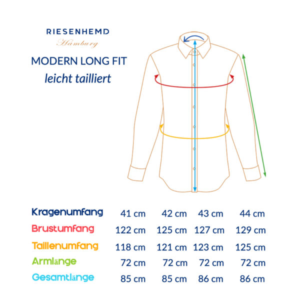 RIESENHEMD - Modern Long Fit